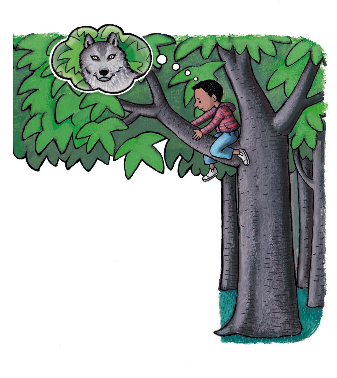 biebboekje 'een beest in het bos'